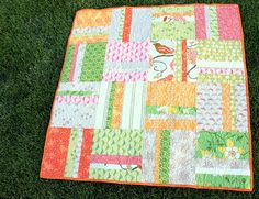 Tutorial on making this quilt from start to finish from: Diary of a Quilter.com