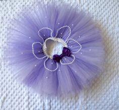 The Sofia the First Tutu- Purple, White and Pearls