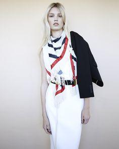 SMR   Camilla & Marc dress, Saba Blazer, Sass & Bide scraf