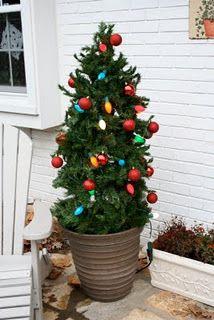 Tomato Cage Christmas Tree Decoration