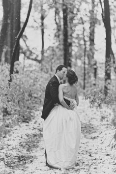 Winter wedding #winter #wedding #snow