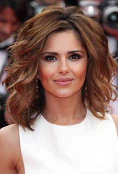 Cheryl Cole Medium Length Hair with Soft Waves