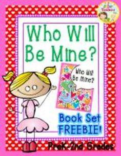 {FREEBIE!} Who Will Be Mine? Emergent Reader Book Set