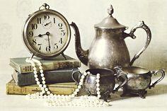Pearls and patina