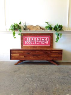 Divisadero Media Storage Console by jeremiahcollection on Etsy, $2400.00