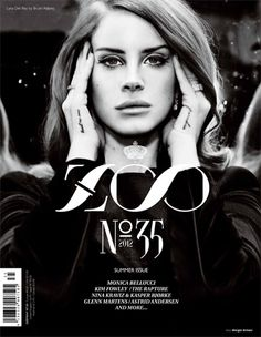 Lana in Zoo Magazine - 2012
