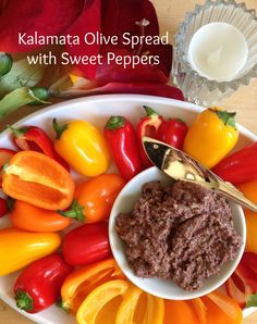 Kalamata Olive Spread with Mini Sweet Peppers