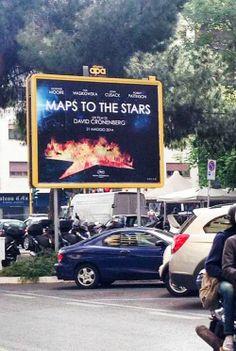 Robert Pattinson - MTTS billboard up in Rome!