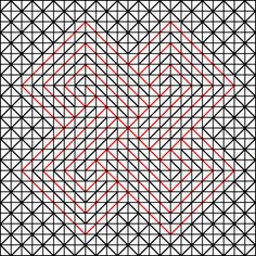 Pebble weave, example