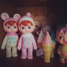 Woodland Doll  ice cream