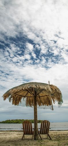Beach paradise. Roatan, Honduras.