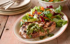 chimichurri, pork recipes, whole foods market, grill pork, grilled vegetables, red wines, summer recipes, meat dinners, pork chops