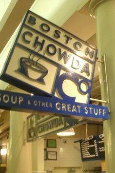 Boston Chowda Co is a Boston, MA favorite for award winning clam chowder.