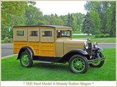 1931 Ford Model A Wagon