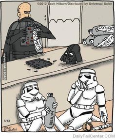 April fools day on the Death Star