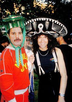Freddie Mercury, Brian May