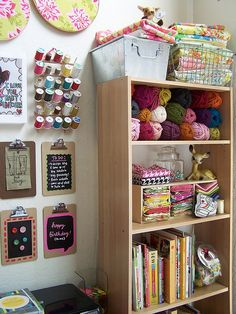 craft studio by amylcluck, via Flickr