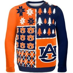 Auburn Tigers Busy Block Ugly Sweater Yes!
