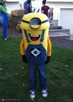 Despicable Me Minion DIY Halloween Costume