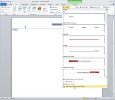 10 Expert Tips For Microsoft Word 2010. Use later