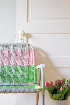 How to weave a macrame chair