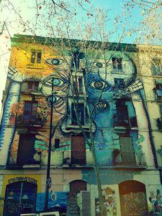 #street #calle #grafitti #elraval #barcelona #bcn #Bpremium