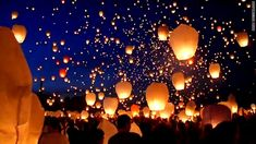 go to the summer solstice in Poznan, Poland - 11,000 lanterns