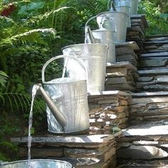 Clever! DIY water fountains