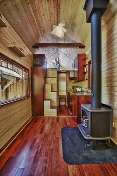 Interior of a beautiful tiny house
