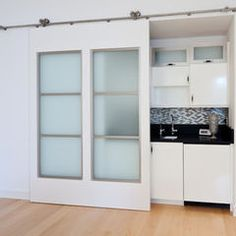 decor, idea, barn doors, contemporary interiors, slide door, hous, kitchen, interior doors, sliding doors