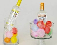 Keep Your Party Drinks Cold in Frozen Water Balloons