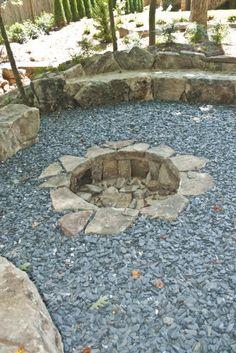 Sunken fire pits on pinterest sunken patio modern Sunken fire pit ideas