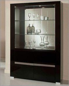modern china cabinets