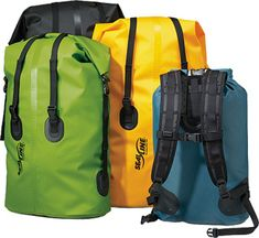 Indestructible... oh yeah and it's waterproof too. Perfect for everything form sailing to skiing. waterproof backpack, bag