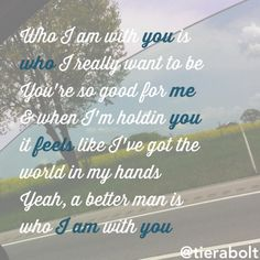 Chris young- who I am with you #lyrics #newmusic #country