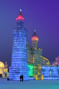 Towers of ice - China Ice Sculptures
