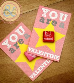 You are a star (burst) valentine