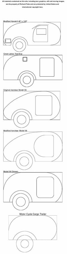Teardrop Trailer Patterns