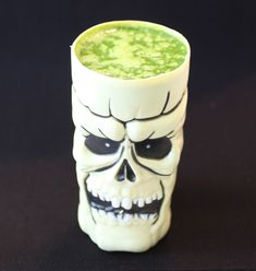 Spookie Smoothie (milk, spinach, banana and honey!) l Weelicious