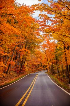 Michigan's Upper Peninsula in fall by 500px