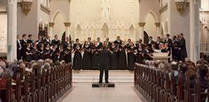 WESTMINSTER CHOIR CONCERTS  VENUE: Cathedral Church of St. Luke and St. Paul  DURATION: Approximately 1 hour, 30 minutes