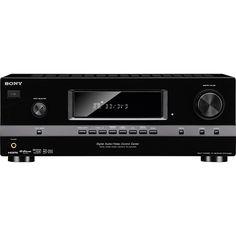 Sony - 945W 7.1-Ch. 3D Pass-Through A/V Home Theater Receiver  Model: STRDH520