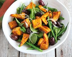 Bill Granger transforms highlights the versatility of sweet autumnal pumpkin with this piquant salad