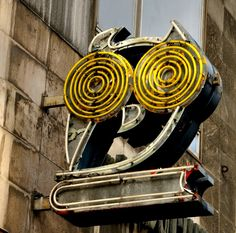neon owl, hungari, shops, shop call, old books