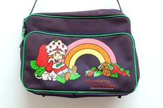 Ultra Cute 1981 Strawberry Shortcake Messenger by ULTRASPECTACULAR, $32.00