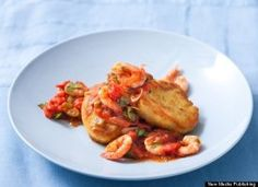 10 quick and easy polenta recipes.  This one is Shrimp Creole Polenta