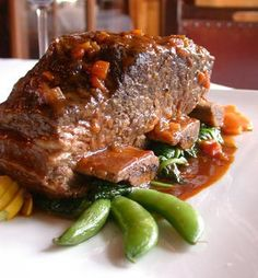 Eat the fabulous braised short ribs at Mockingbird Bistro