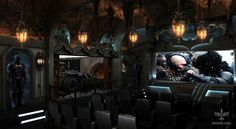 The Ultimate Batcave Home Theater (Batmobile Included) - My Modern Metropolis