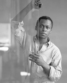Miles Davis, ca 1955.  Photo: Tom Palumbo.