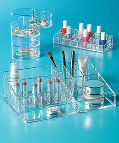 Contain Your Cosmetics! Makeup Organization Tips from The Container Store